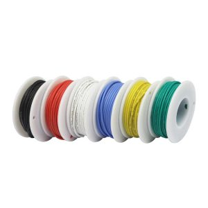Draht Sortiment 22AWG (Litze, Wire, 6 farbig)