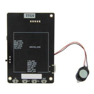 """LilyGo TTGO T5s 2.9"""" 3-Color (weiss, schwarz, gelb) EPaper/E-Ink inkl. ESP32 und Mikrofon (Eink, MAX9835, ICS43434)"""