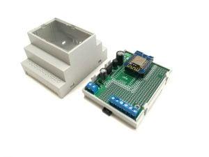 ArduiBox ESP32/ESP8266 Hutschienen Gehäuse (DIN-Rail)