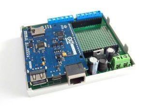 ArduiBox Arduino Hutschienen Gehäuse (DIN-Rail)