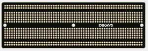 PCB Prototyping Breadboard für Arduinoprojekte (Full-Sized, Half-Sized)
