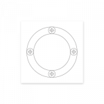 mounting-template-circle-4-holes
